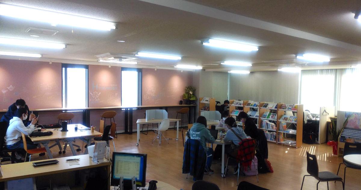 画像:ヒカリバは学生さんにも人気のコワーキングスペースです