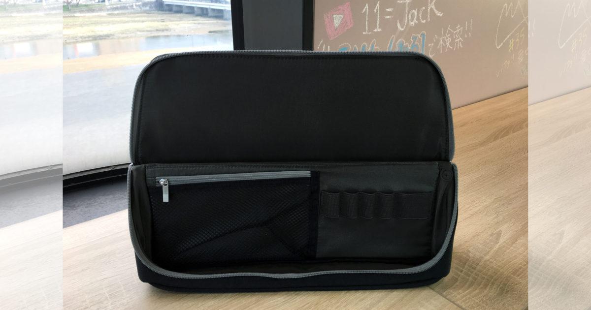 """画像:自席のないスペースでの活動にピッタリの""""立つバッグ""""は最強アイテム"""
